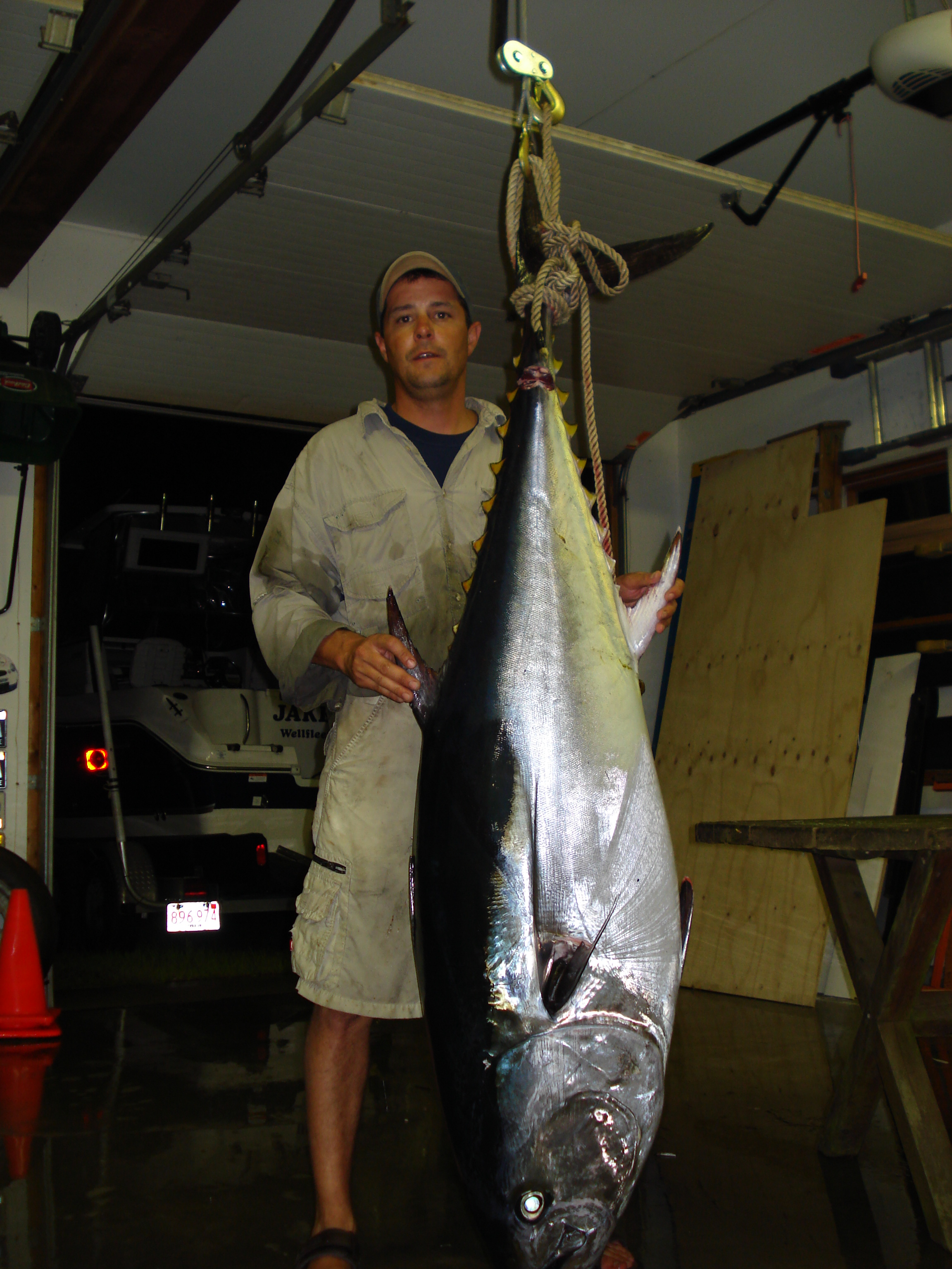 215 lb Spin Rod Bluefin
