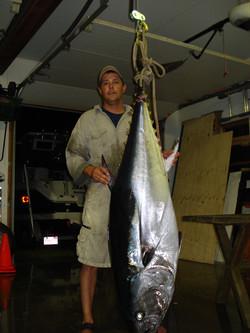 215 lb Spin Rod Bluefin