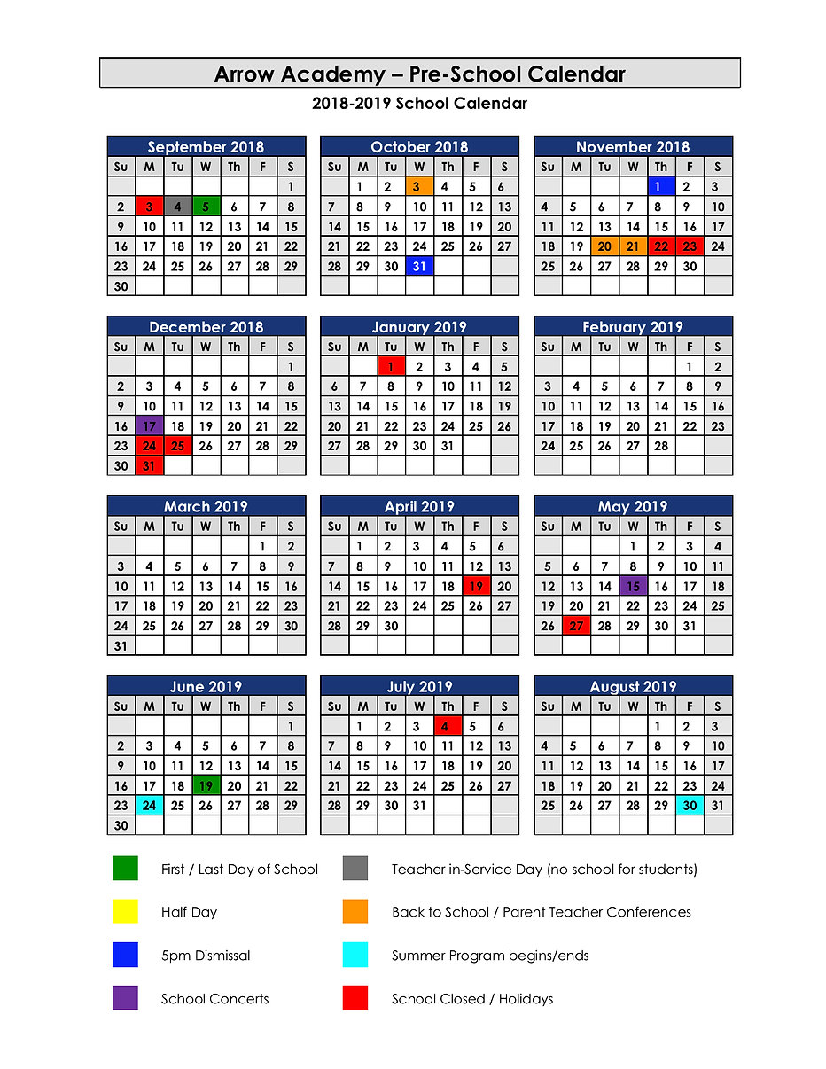 2018-19 PreK Calendar REV 090718.jpg