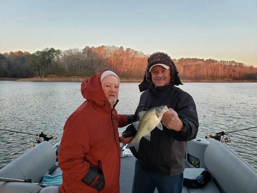 Lake Allatoona Fishing Report for 12.19.2019