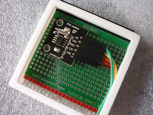 Realtime Clock, with button cell battery installed