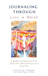 Journaling Through Loss and Grief Cover