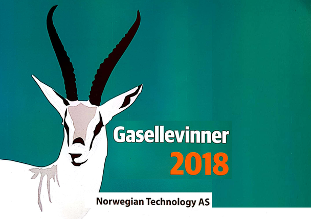 "NORWEGIAN TECHNOLOGY AS  AWARDED ""GASELLE"" FOR PERFORMANCE IN 2018"