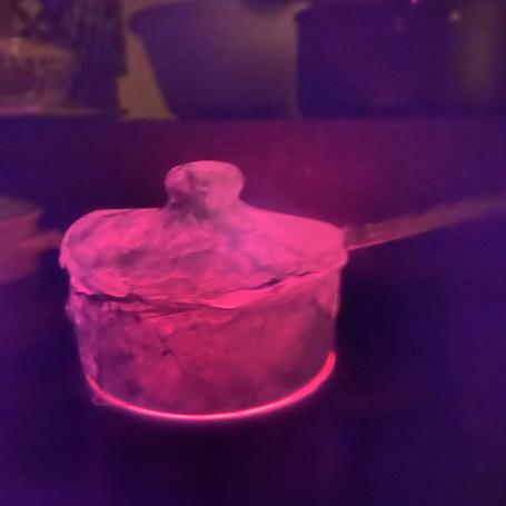pot ON FIRE