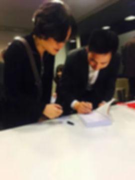 Xi Zeng met Yao Zhongbin