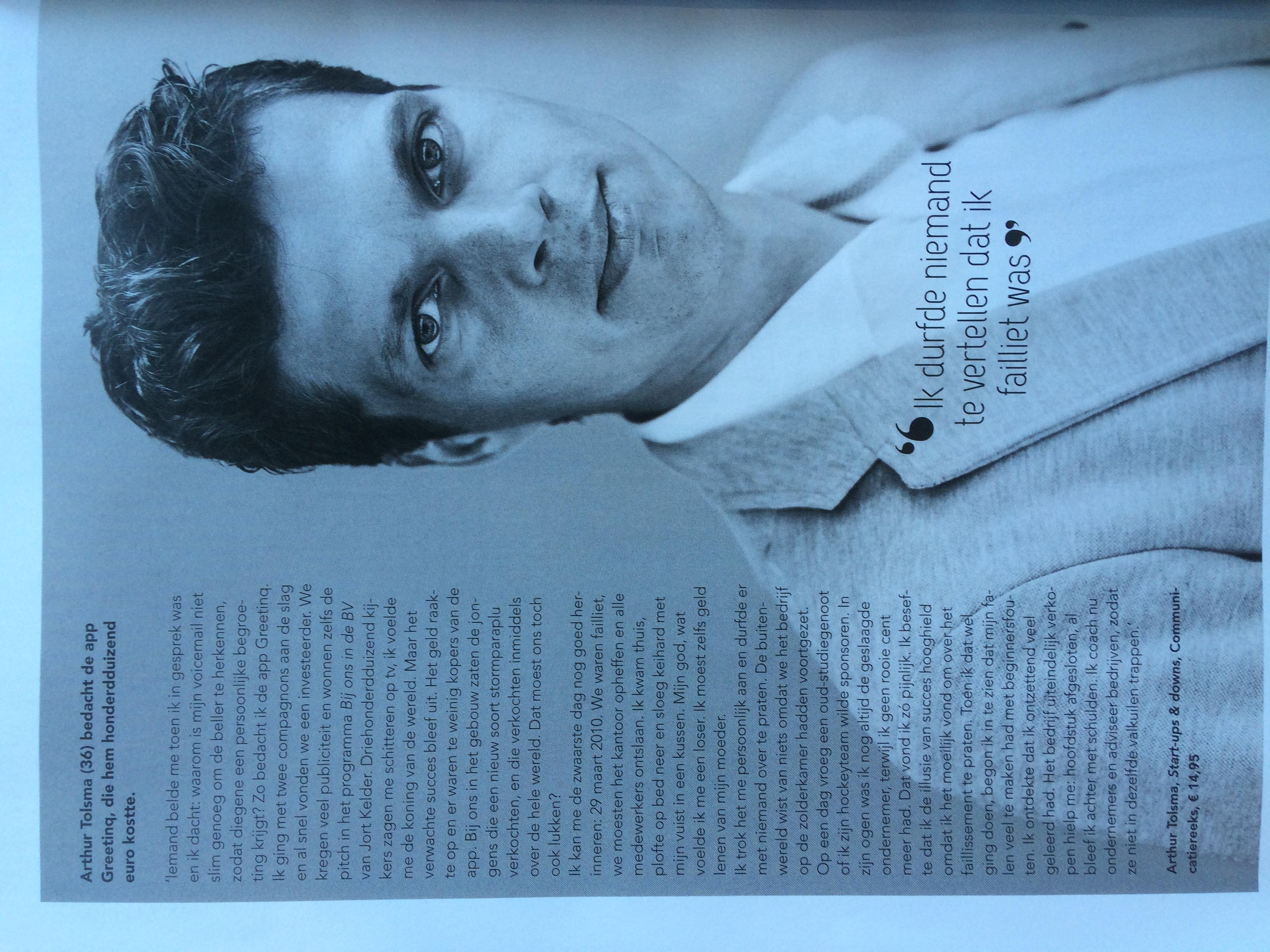 Arthur Tolsma in Psychologie Magazin