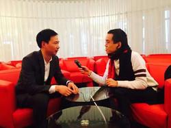 Yao Zhongbin bij CRTV