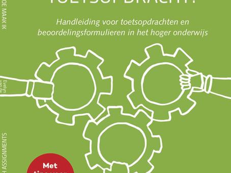'Hoe maak ik een toetsopdracht' wordt gebuikt aan TU Delft