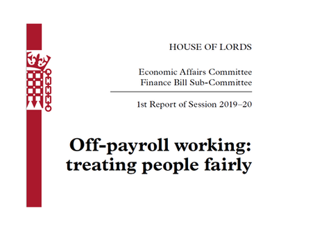 The Government to ignore the House of Lords and press on with reforms to off-payroll working