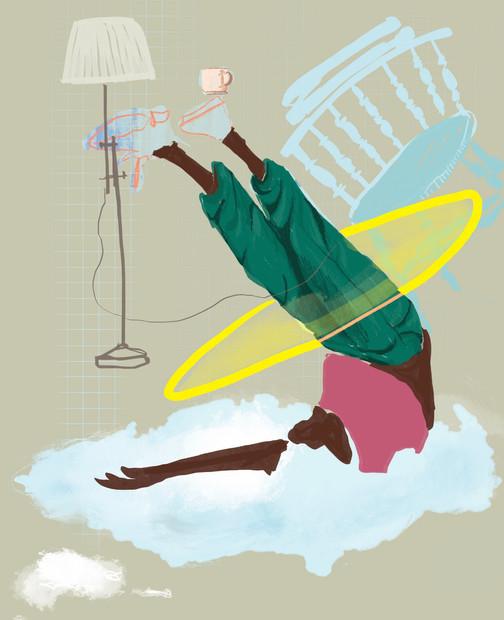 Illustration for Breathe Magazine