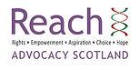 REACH Adovocacy Scotland Logo