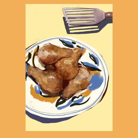 Our kitchen recipe page design
