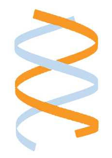 double helix graphic