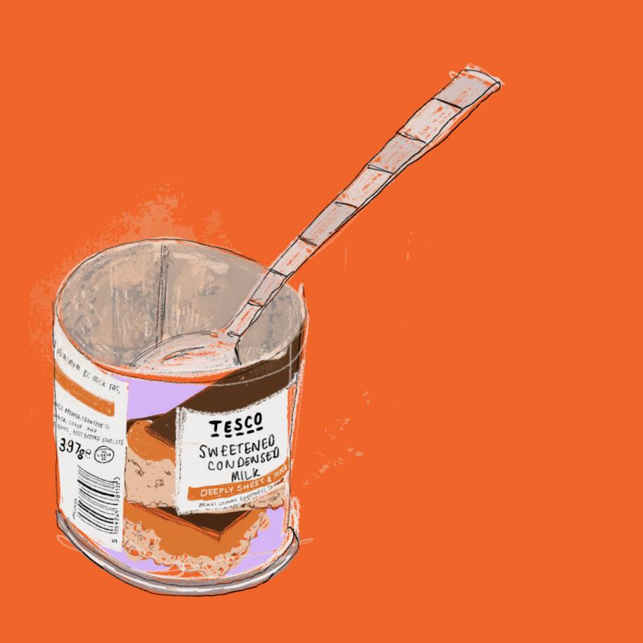 tesco value condensed milk