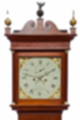 Pearse Axminster mahogany antique longcase grandfather clock eight day striking
