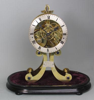 Roskell Litherland Davies Liverpool skeleton clock detent chronometer escapement english