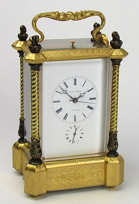 Bovet frees musical frcarriage clock French paris
