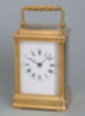 Jacot gorge carriage clock