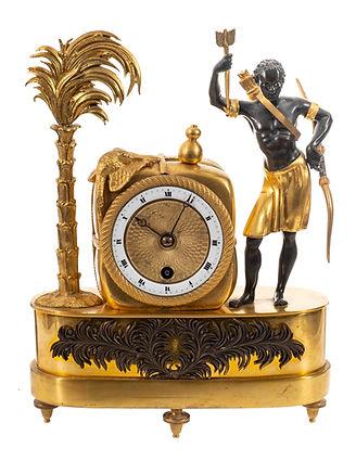 Au Bon Sauvage Mantel Clock