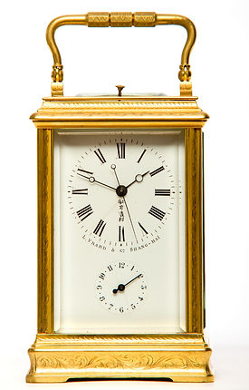 Vrard Shanghai French carriage clock Chinese market Joseph Paris