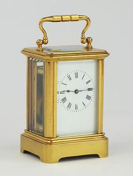 Margaine Paris miniature french carriage clock