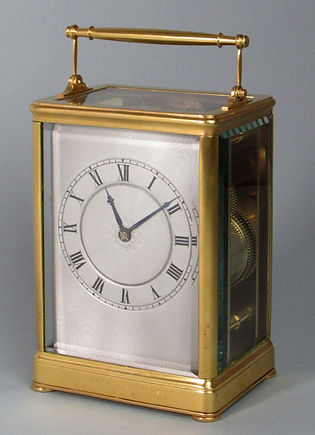 1416 Leroy Paris carriage clock