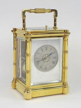 Jacot Bambu French carraige clock montmorency