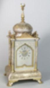 Ottoman Delepine Frenchantique mantel carriage clock