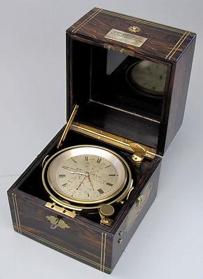 McGregor Glasgow Thomas Mercer two day m ships chronometer detent escapement antique coromandel