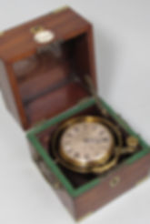 French London One day mahogany ships chronometer detent escapement antique HMS Resolute Franklin Northwest North west passage