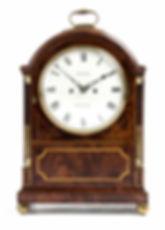 Lashmar Brighton striking antique bracket clock mahogany double fusee