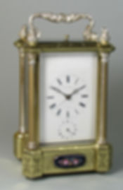 Bovet Freres carriage clock