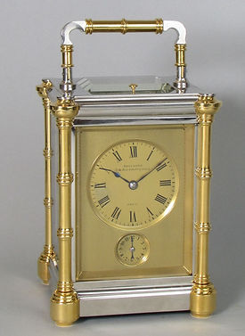 Drocourt Paris French carriage clock grande sonnerie rue debelleyme 28