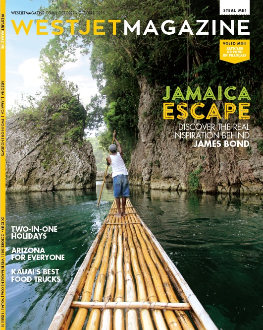 WestJet Magazine Cover