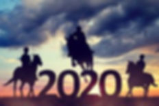 silhouette-riders-riding-horse-sunset-fo