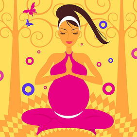 Many yoga poses can be safe even during late stages of pregnancy.