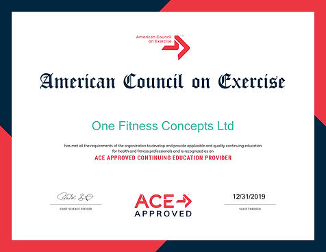 ACE-Course-One Fitness Concepts Ltd2019.