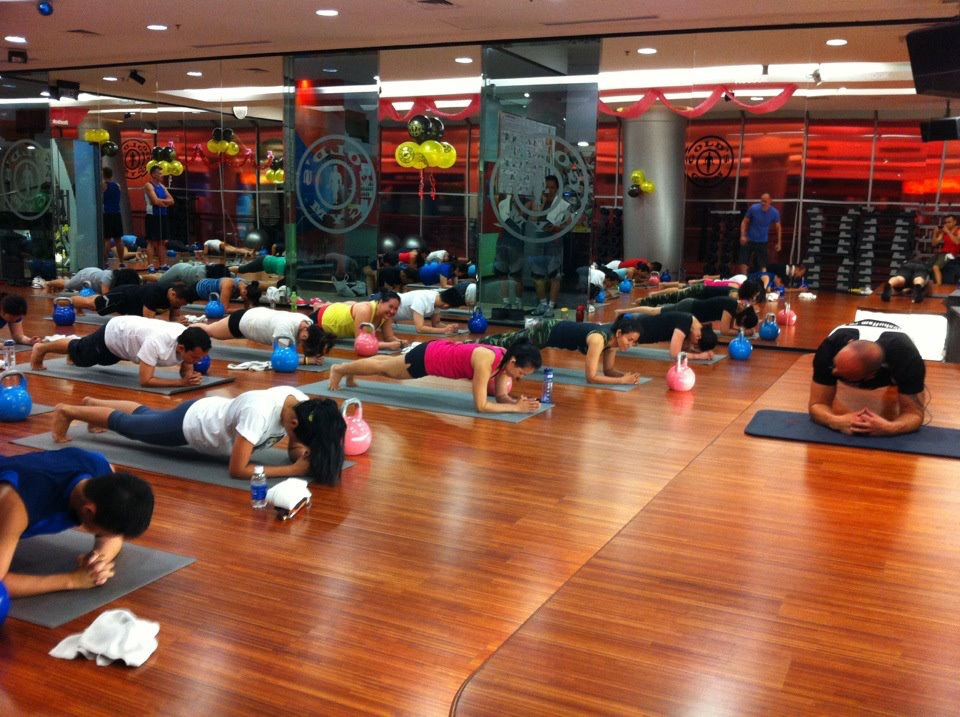 KetFit™ class - planking up a storm