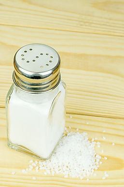 Yes or no. Is salt ok for you?