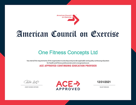 ACE-Course-One Fitness Concepts Ltd2021.