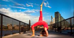 Yoga me active background