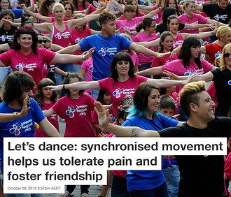The power ofsynchronsied movement