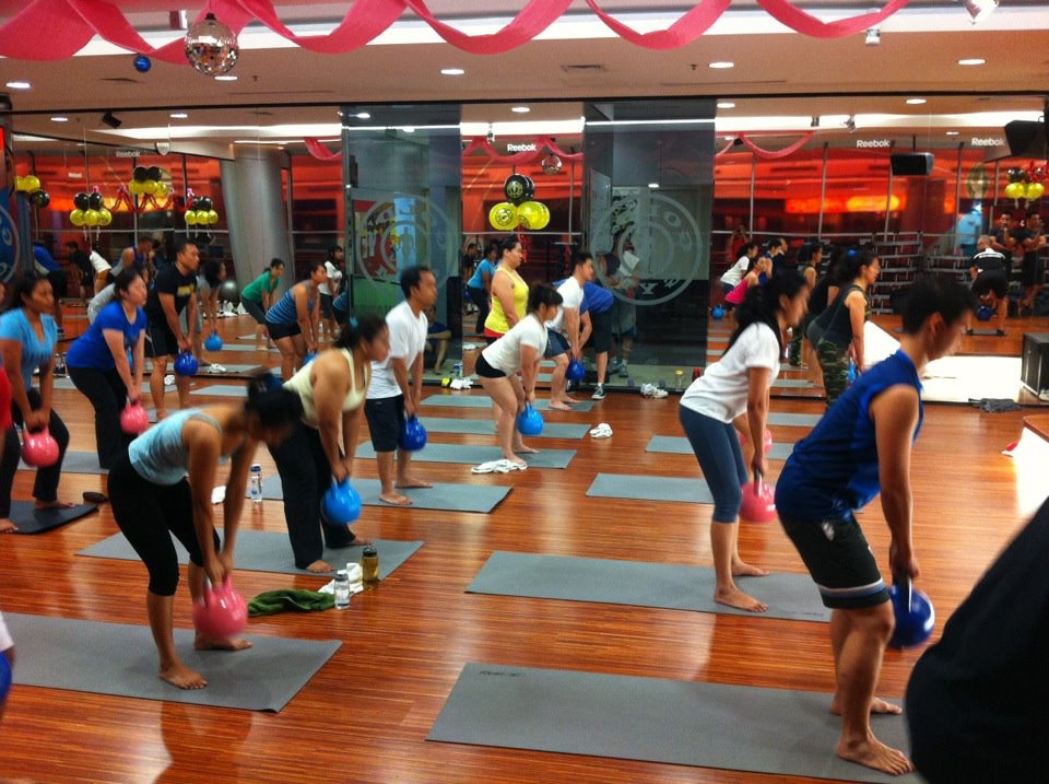 KetFit™ hot group exercise classes