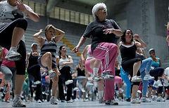 年长的妇女的训练方式