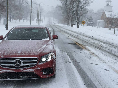 Tips on Winter-izing your Mercedes Benz
