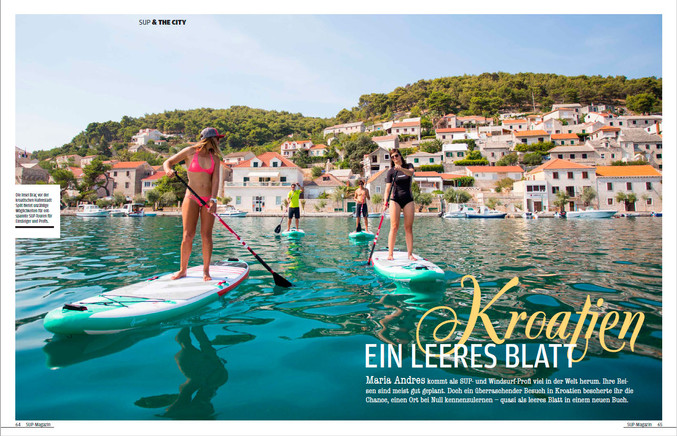 Article in SUP Mag Germany
