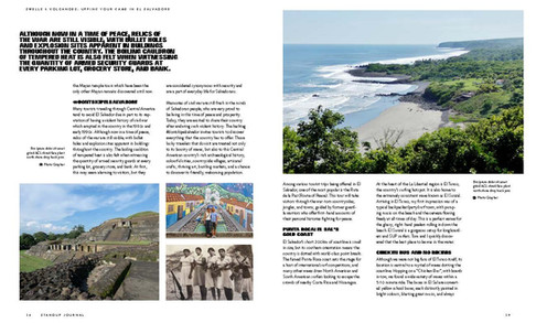 Article in Stand Up Journal USA