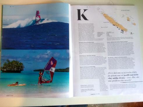 Article in Slovakian Windsurfer Magazine