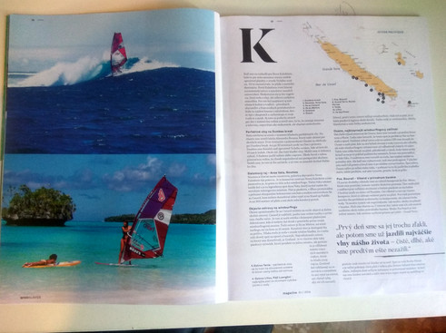 Article in Slovakian Windsurfer Magazine