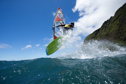 Freestyle Windsurfing in the Azores